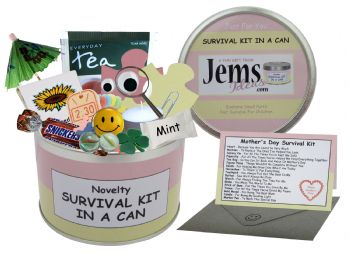 Mother's Day Survival Kit In A Can